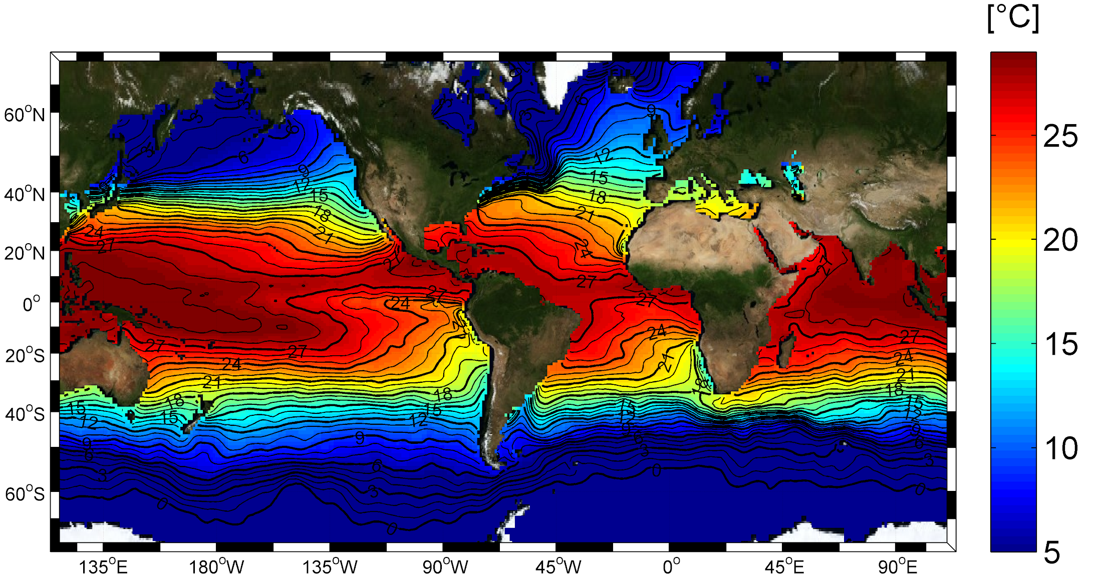 Salinity Distribution At The Ocean Surface Sea Surface